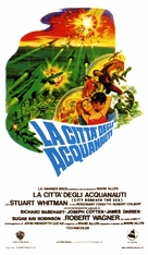 City Beneath the Sea - Italian Movie Poster (xs thumbnail)