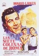 Arrivederci Roma - Spanish Movie Poster (xs thumbnail)
