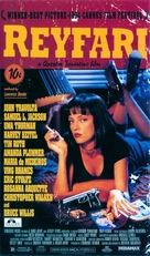 Pulp Fiction - Icelandic DVD movie cover (xs thumbnail)