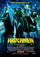 Watchmen - Dutch Movie Poster (xs thumbnail)
