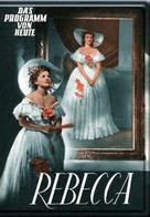 Rebecca - German Movie Poster (xs thumbnail)