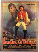 Fanfan la Tulipe - French Movie Poster (xs thumbnail)