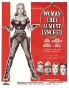 Woman They Almost Lynched - British Movie Poster (xs thumbnail)