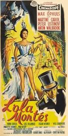 Lola Montès - French Movie Poster (xs thumbnail)