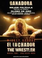 The Wrestler - Uruguayan Movie Poster (xs thumbnail)