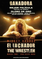 The Wrestler - Uruguayan Movie Poster (xs thumbnail)