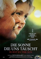 Utomlyonnye solntsem - German Movie Poster (xs thumbnail)