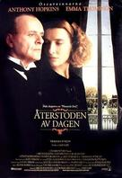 The Remains of the Day - Swedish Movie Poster (xs thumbnail)