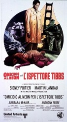 They Call Me MISTER Tibbs! - Italian Movie Poster (xs thumbnail)