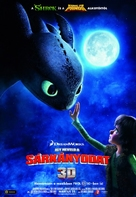 How to Train Your Dragon - Hungarian Movie Poster (xs thumbnail)