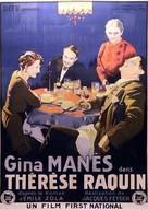 Thérèse Raquin - French Movie Poster (xs thumbnail)