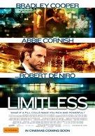 Limitless - Australian Movie Poster (xs thumbnail)
