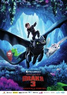 How to Train Your Dragon: The Hidden World - Slovak Movie Poster (xs thumbnail)