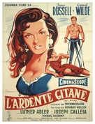 Hot Blood - French Movie Poster (xs thumbnail)