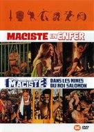 Maciste nelle miniere di re Salomone - French DVD cover (xs thumbnail)