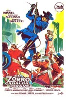El Zorro cabalga otra vez - Spanish Movie Poster (xs thumbnail)