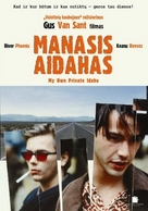 My Own Private Idaho - Lithuanian DVD movie cover (xs thumbnail)