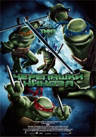 TMNT - Russian Movie Poster (xs thumbnail)