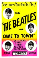 The Beatles Come to Town - Movie Poster (xs thumbnail)