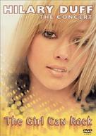 Hilary Duff: The Concert - The Girl Can Rock - DVD movie cover (xs thumbnail)