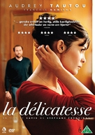 La délicatesse - Danish DVD movie cover (xs thumbnail)