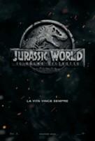 Jurassic World: Fallen Kingdom - Italian Movie Poster (xs thumbnail)