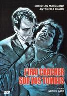 J'irai cracher sur vos tombes - French DVD cover (xs thumbnail)