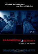 Paranormal Activity 3 - German Movie Poster (xs thumbnail)