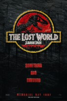 The Lost World: Jurassic Park - Advance poster (xs thumbnail)