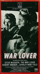 The War Lover - VHS movie cover (xs thumbnail)