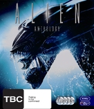 Alien - New Zealand Blu-Ray cover (xs thumbnail)