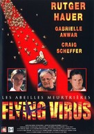 Flying Virus - French Movie Poster (xs thumbnail)