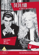 Bedlam - British DVD movie cover (xs thumbnail)