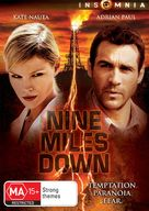 Nine Miles Down - Australian DVD cover (xs thumbnail)