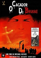 Witchfinder General - Brazilian DVD movie cover (xs thumbnail)