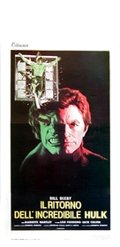 The Incredible Hulk: Married - Italian Movie Poster (xs thumbnail)