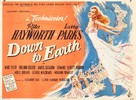 Down to Earth - British Movie Poster (xs thumbnail)