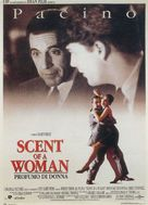 Scent of a Woman - Italian Movie Poster (xs thumbnail)