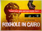 Foxhole in Cairo - British Movie Poster (xs thumbnail)