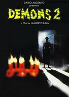 Demoni 2 - DVD cover (xs thumbnail)