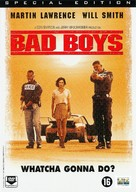Bad Boys - Dutch DVD cover (xs thumbnail)