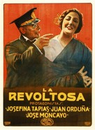 La revoltosa - Spanish Movie Poster (xs thumbnail)