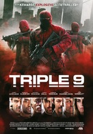 Triple 9 - Belgian Movie Poster (xs thumbnail)