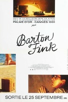 Barton Fink - French Movie Poster (xs thumbnail)