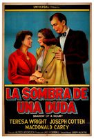 Shadow of a Doubt - Argentinian Movie Poster (xs thumbnail)
