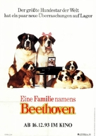 Beethoven's 2nd - German Movie Poster (xs thumbnail)