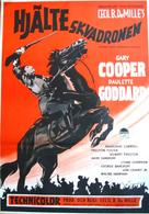 North West Mounted Police - Swedish Movie Poster (xs thumbnail)