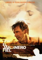The Constant Gardener - Spanish Movie Poster (xs thumbnail)