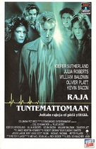 Flatliners - Finnish VHS movie cover (xs thumbnail)