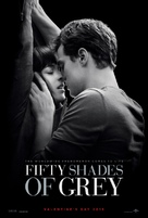 Fifty Shades of Grey - Theatrical movie poster (xs thumbnail)